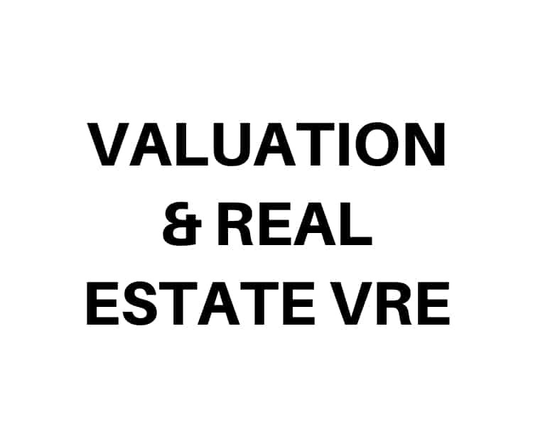 Valuation & Real Estare VRE