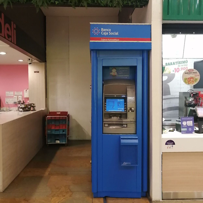 Cajero Banco Caja Social