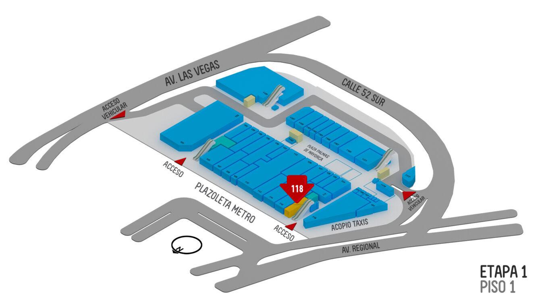Feria del Brasier Ubicación