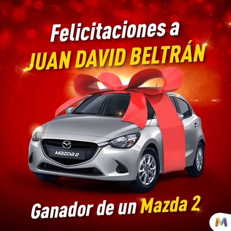 Gánate un Mazda 2