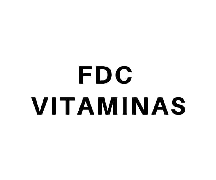 FDC Vitaminas