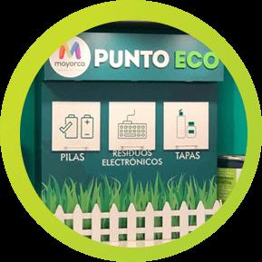 Punto Ecológico en Medellín -