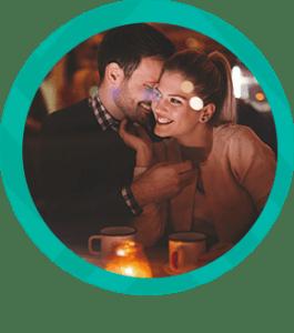 Cena romántica en un restaurante en Medellín
