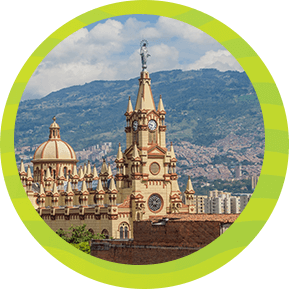 Conocer las Iglesias de Medellín