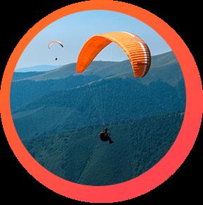 Volar en Parapente un Plan para hacer en Medellín