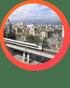 El metro de Medellín planes para hacer una domingo