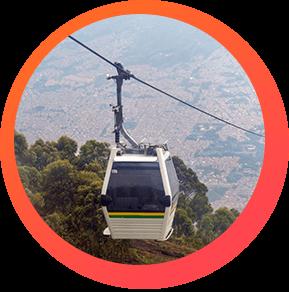 Metro Cable - Turismo en Medellín