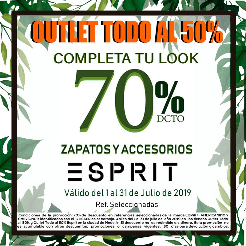 OUTLET TODO AL 50%