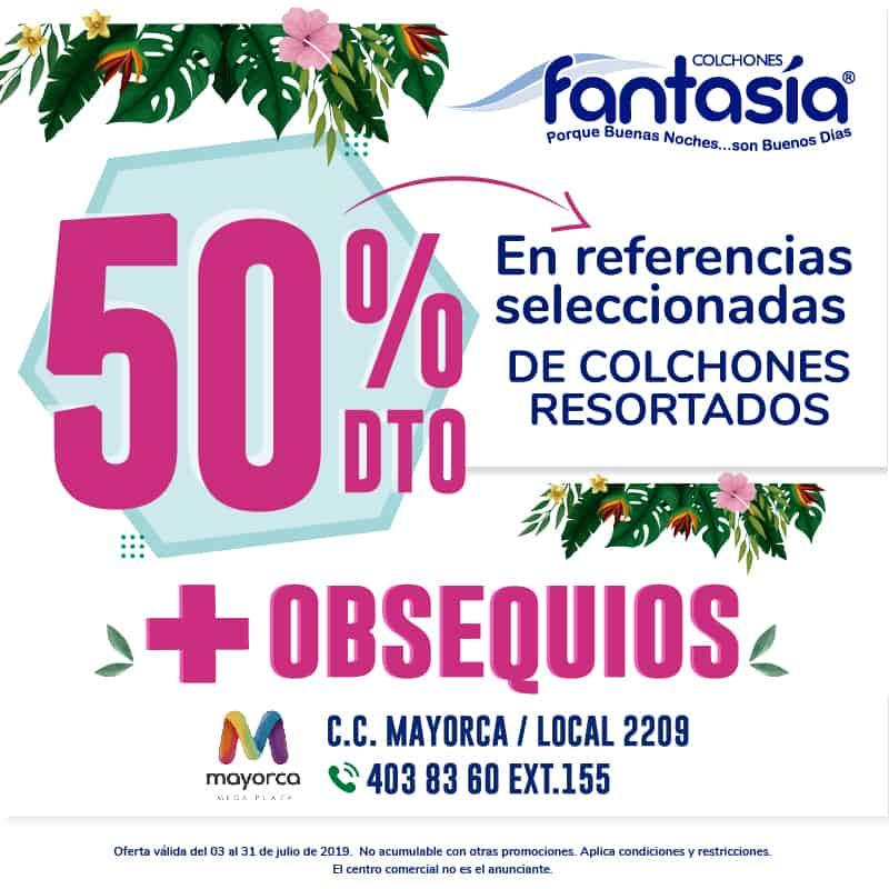 COLCHO.. FANTASIA