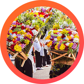 Medellín Feria de Flores - Desfile de Silleteros