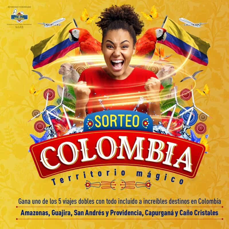 SORTEO COLOMBIA TERRITORIO MÁGICO