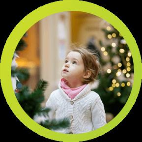 La navidad con niños