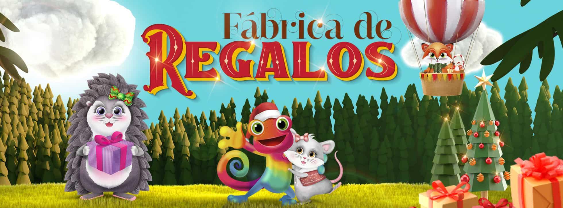 FÁBRICA DE REGALOS BANNER