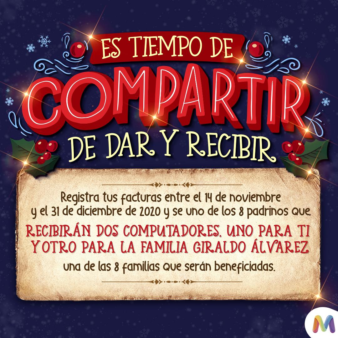 ES TIEMPO DE COMPARTIR