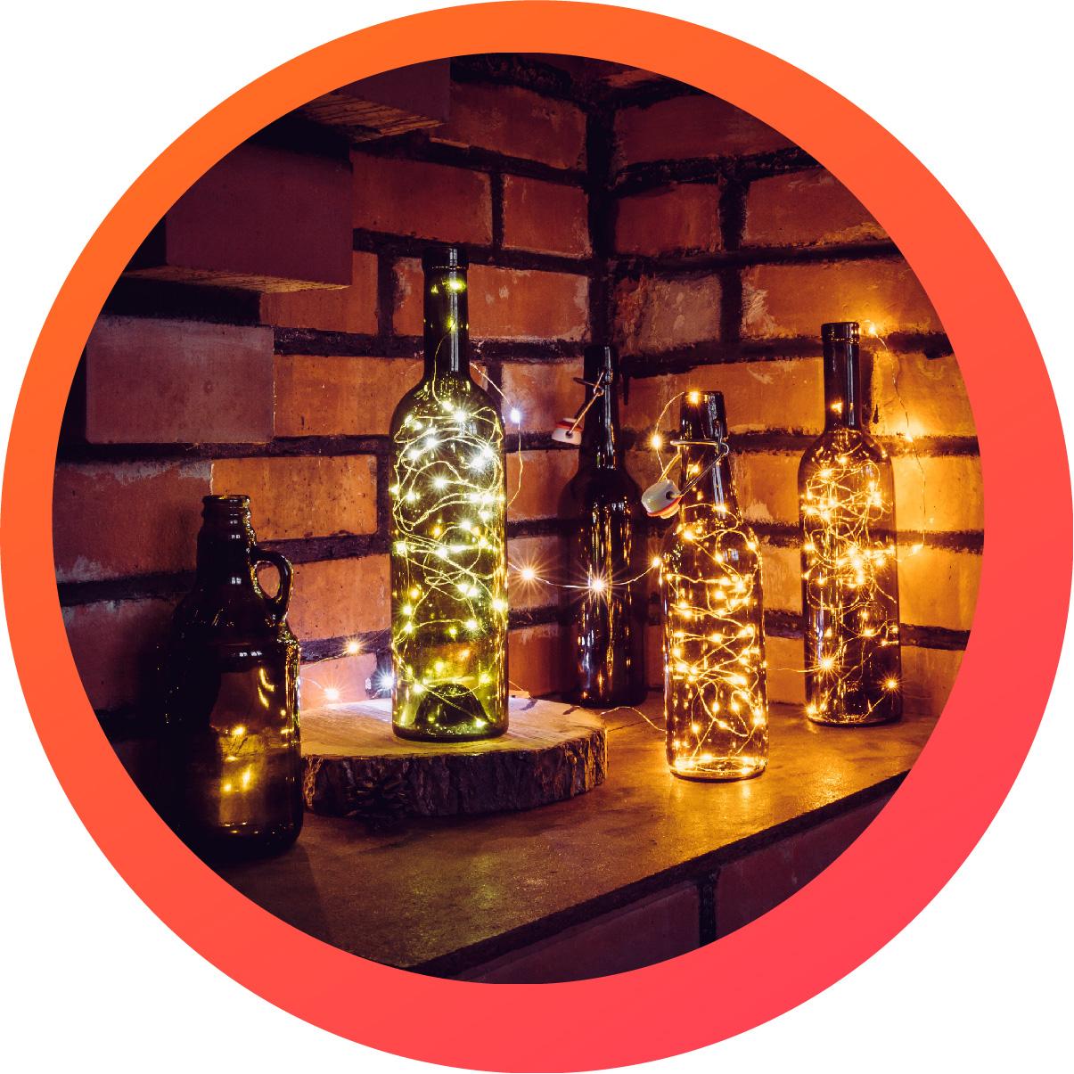 Ideas para decorar tu casa con luces LED -
