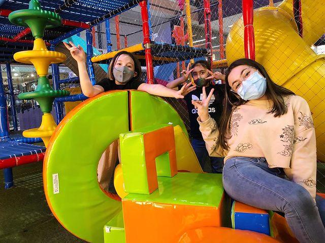 Juegos para niños en el Centro Comercial