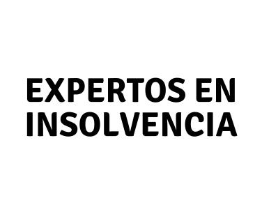 EXPERTOS EN INSOLVENCIA